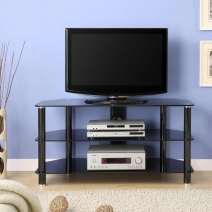 Innovex Concord 42 in. TV Stand - Black