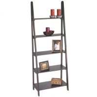 Espresso 5 Shelf Ladder Bookcase ES21-OSP Designs