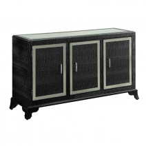 Powell Glamour Console Cabinet - Black