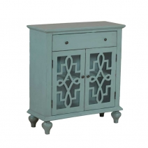 Powell Blue Fretwork Console