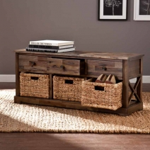SEI Jayton Storage Bench