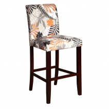 Powell Floral Bar Stool