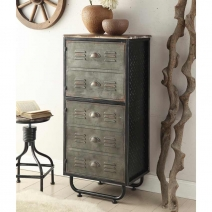 *Avail 7/11 4D Concepts Locker Collection 2 Door Bookcase