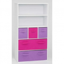 *AVAIL 3/15 4D Concepts Girls Storage Bookcase