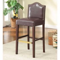 Linon Manor Blackberry Stool - 2 Heights