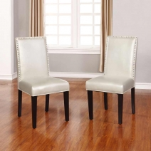 Linon Stewart Dining Chair Set of 2