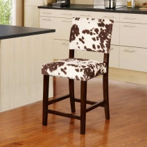 *OUT OF STOCK Linon Corey Udder Madness Stool - 2 Heights