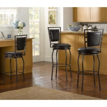 Linon Townsend Three Piece Adjustable Stool Set *AVAIL 4/1