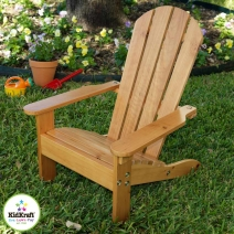 KidKraft Adirondack Chair - Honey
