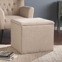 *CLOSEOUT SEI Backman Storage Ottoman