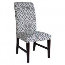Powell Blue Parson Chair Set