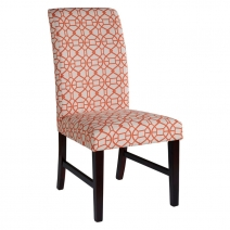 Powell Orange Parson Chair Set