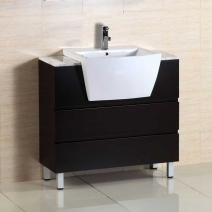 Bellaterra 36 inch Single Sink Wood Vanity