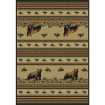 United Weavers Marshfield Pine Creek Bear Room Size Rug