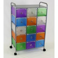 4D Concepts 15 Medium Drawer Rolling Storage