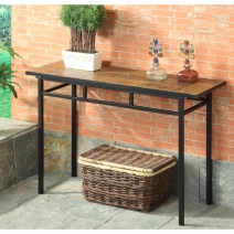 *AVAIL 6/1 4D Concepts Slate Top Sofa Table