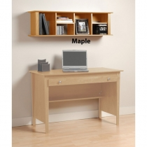 Prepac Maple Contemporary Wall Hutch (4 Finishes)