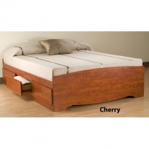 Prepac Monterey Queen Platform Storage Bed (2 Finishes)