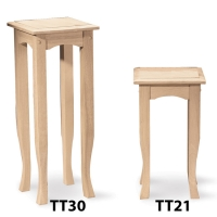IC Unfinished Tea Table