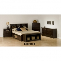 Prepac Fremont Espresso Adult 6 pc. Bedroom Set