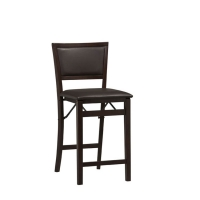 Linon Triena Pad Back Folding Counter Stool