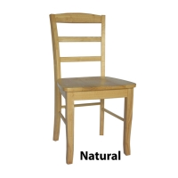 IC Madrid Ladderback Chair (RTA) - Set of 2 - 8 Finishes