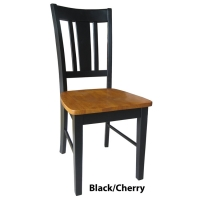 IC San Remo Slatback Chairs - Set of 2 - 5 Finishes