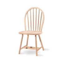 IC Unfinished Junior Windsor Spindleback Chair