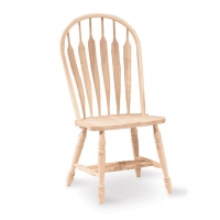 IC Unfinished Steambent Arrowback Chair
