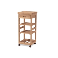 IC Unfinished Kitchen Trolley Cart