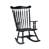 IC Solid Wood Rocker (RTA) - 3 Finishes