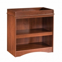 South Shore Peak-a-boo Changing Table - Royal Cherry
