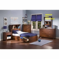 South Shore Jumper 5 Pc. Bedroom Set - Classic Cherry