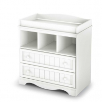 South Shore Savannah Changing Table - Pure White