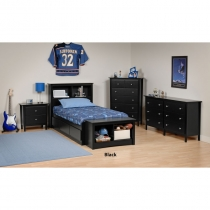 Prepac Berkshire Kids Bedroom Set (3 Finishes)