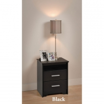 Prepac Coal Harbor 2 Drawer Tall Night Stand