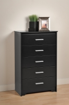 Prepac Coal Harbor 5 Drawer Chest (2 Finishes)