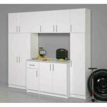 Prepac Elite Garage 8 ft Cabinet Group