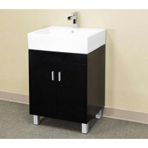 Bellaterra 22.8 in. Single Sink Vanity - Dark Espresso