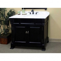 Bellaterra 42 in. Single Sink Vanity - Espresso