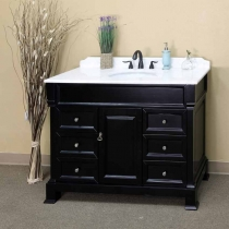 Bellaterra 50 in. Single Sink Vanity - Espresso