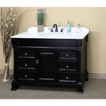 Bellaterra 60 in. Double Sink Vanity - Espresso