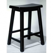 Powell Antique Black Counter Stool