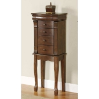 *AVAIL 7/13 Powell Louis Philippe Walnut Jewelry Armoire