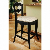 *AVAIL7/10 Powell Hills Of Provence Antique Black Counter Stool