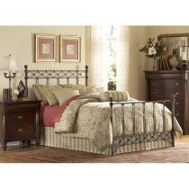 FB Argyle Metal Bed - 4 Sizes