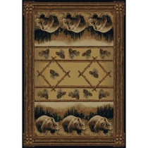 United Weavers Hautman Grizzly Pines Room Size Rug