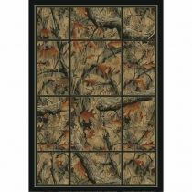 United Weavers Hautman Camouflage Grid Room Size Rug