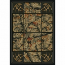 United Weavers Hautman Antlers Camo Room Size Rug