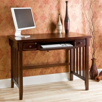 Holly & Martin Tristan Espresso Computer Desk w/ Pullout Drawers